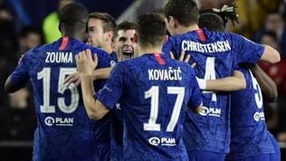 Champions League: Valencia e Chelsea pareggiano e l'Ajax li supera, Lipsia qualificato agli ottavi
