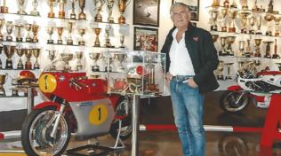 Agostini inaugura il museo privato con i 360 trofei vinti