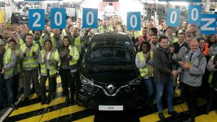 Renault, numeri da record per i modelli elettrici