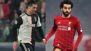 Il Pallone d'Oro 2019 diSportmediaset, semifinale: Cristiano Ronaldo batte Salahe vola in finale