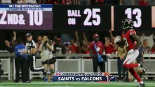 Falcons-Saints, il Ringraziamento della NFL su Canale 20