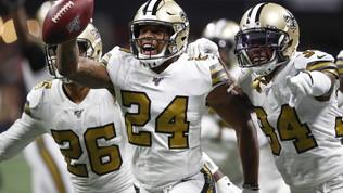 Nfl: i Saints battono i Falcons e si assicurano i playoff, vincono Buffalo e Chicago
