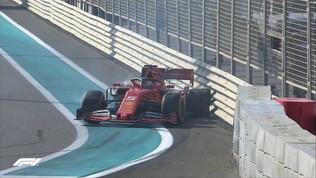 Vettel, altro botto: in barriera nelle Libere 1