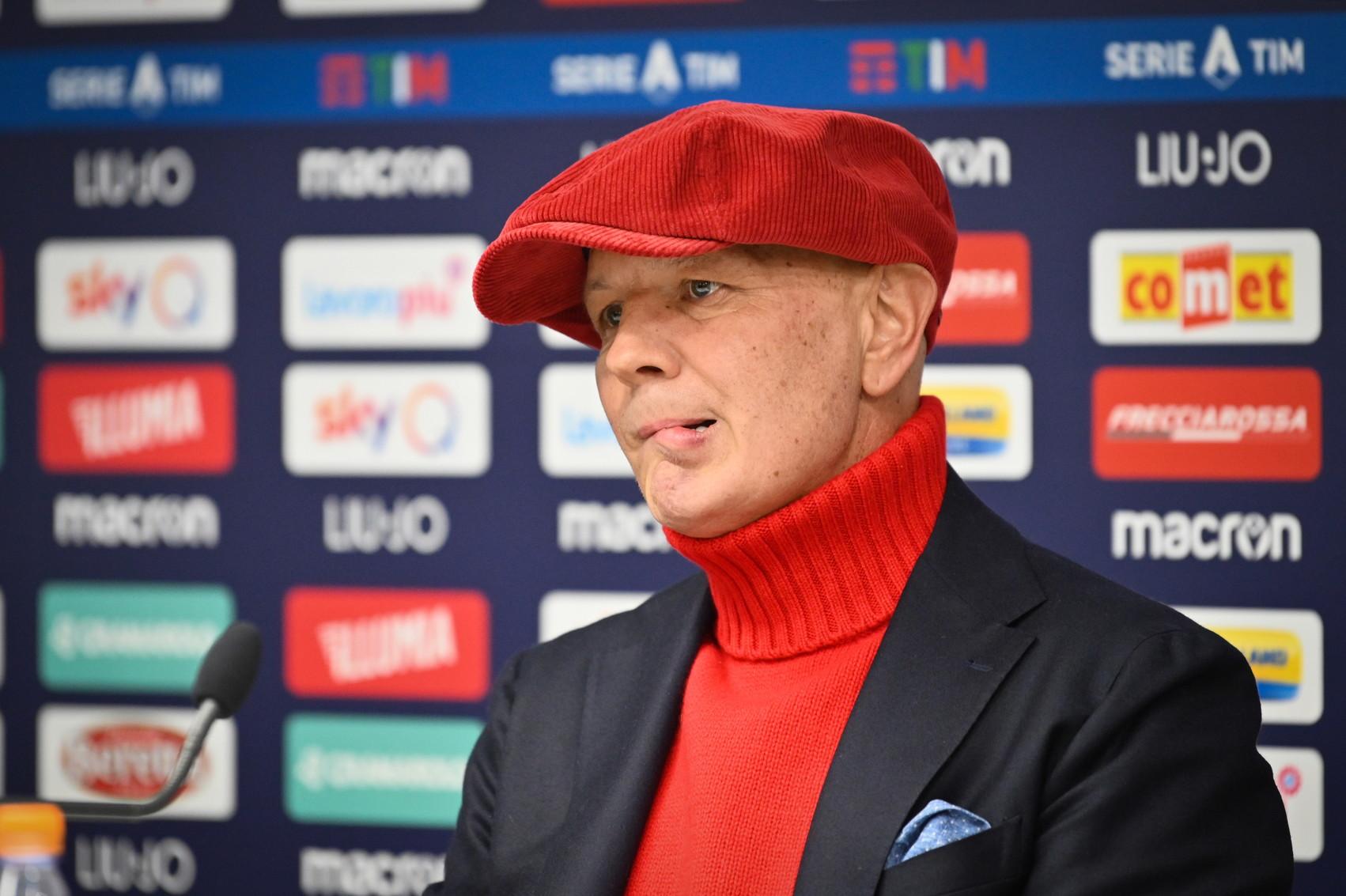 Grande emozione in casa Bologna per la conferenza dell'allenatore che fa il punto sulla sua malattia