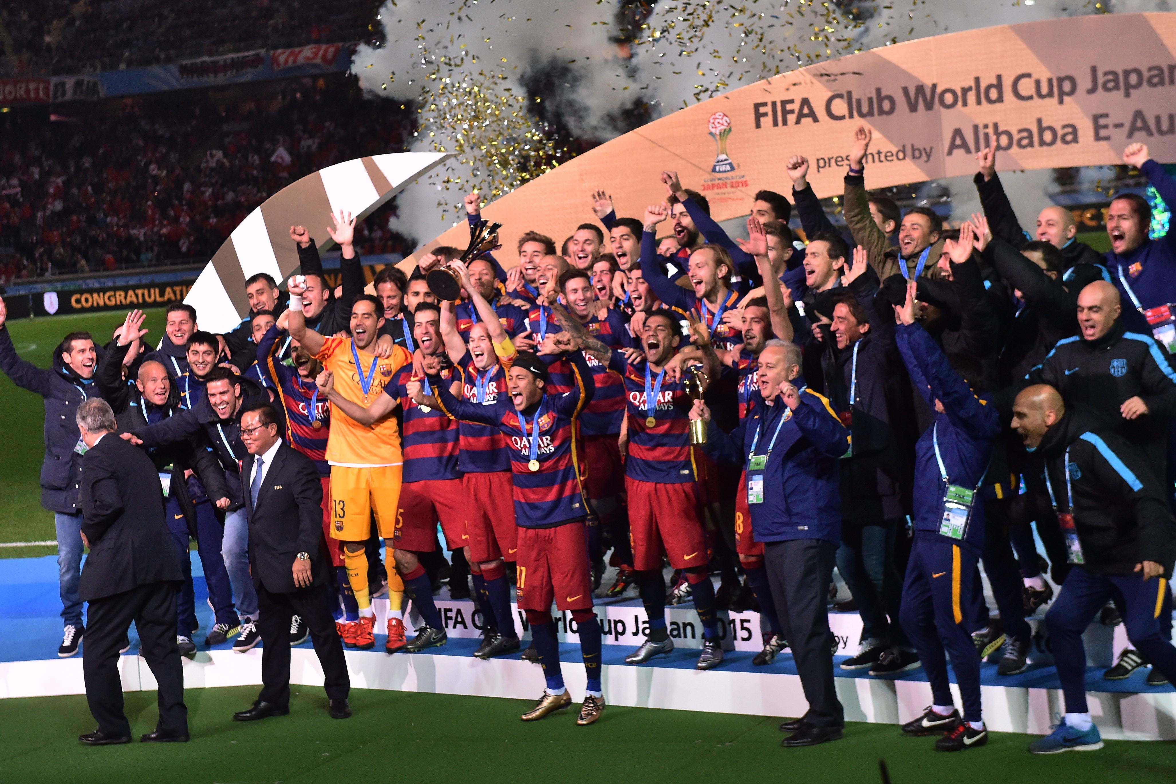 Barcellona: tre (2009, 2011, 2015)