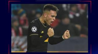 Lautaro conquista anche la Uefa, suo il gol della settimana