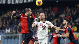 Serie A, Genoa-Torino 0-1: le foto del match