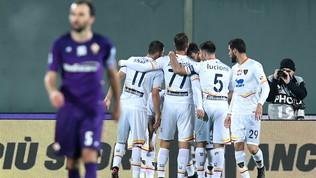 Fiorentina-Lecce: le foto del match