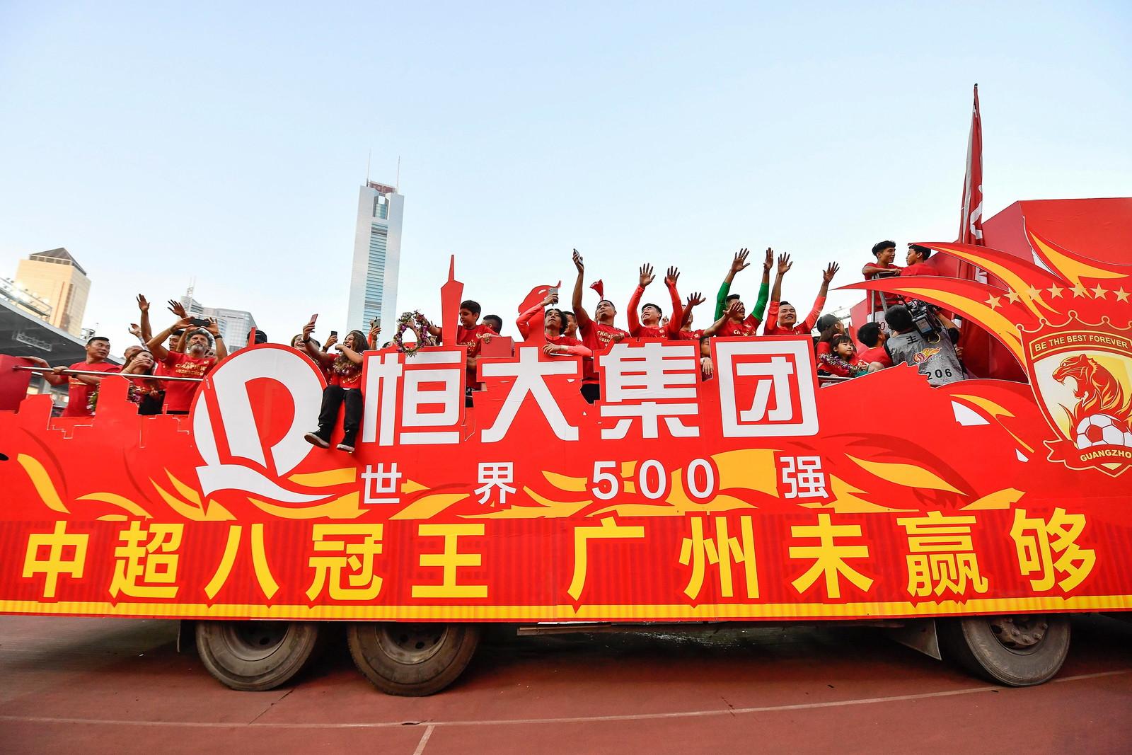 Il Guangzhou Evergrande allenato dall'ex campione del mondo ha vinto il titolo
