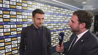 """Inter,""""Vecino: """"Noi primi? Conte bravo nella mentalità"""""""