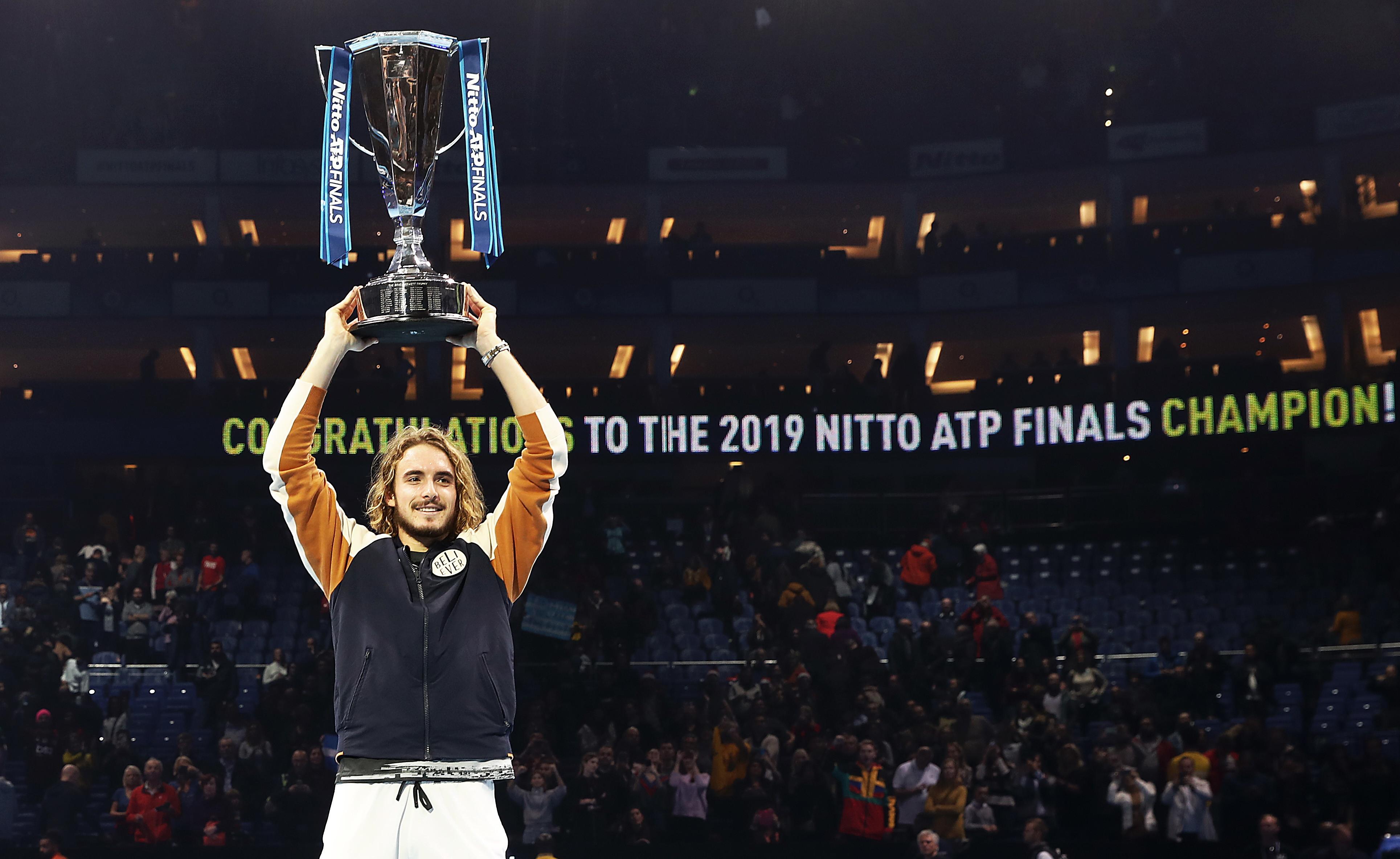 Atp Finals tennis: Stefanos Tsitsipas