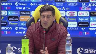 """Roma,""""Fonseca: """"Con l'Inter il test più importante"""""""