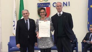 USSI-Coni 2019: a Francesca Benvenuti il premio per la tv