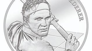 "Svizzera, Federer""finisce su una moneta"