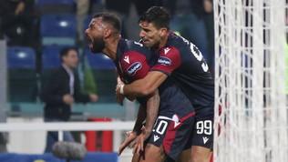 Cagliari, rimonta Champions: Samp in ginocchio al 96'