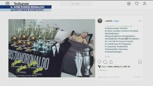 Il web punge Ronaldo