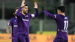 Doppio Benassi e la Viola in 10 supera il Cittadella: Fiorentina agli ottavi, Montella respira