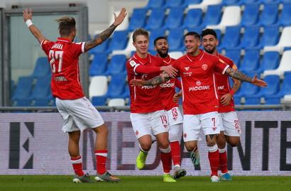 Sassuolo-Perugia 1-2: Sorpresa al Mapei, gli umbri raggiungono il Napoli agli ottavi