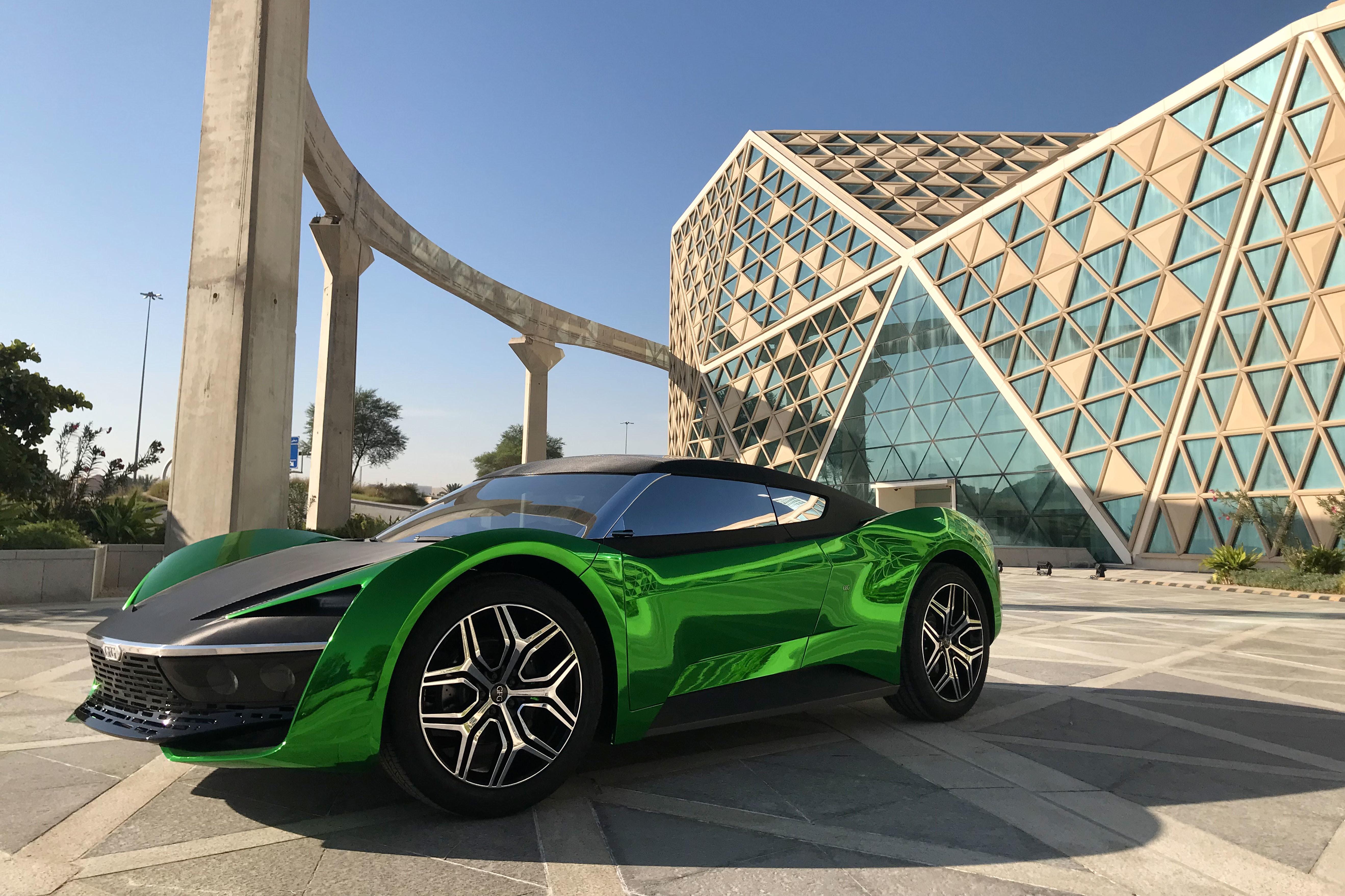 """GFG Style 2030 è laconcept car dedicata all'Arabia Saudita (""""2030"""" è il nome del programma verso un progresso ecosostenibile) e progettatadalla GFC, la nuova società di desing di Giorgetto Giugiaro e di suo figlio Fabrizio.Il prototipo, un SUV elettrico a 4 ruote motrici,è stato mostrato a Riad il 21 novembre e sarà presentato ufficialmente al salone dell'auto di Ginevra nel marzo del 2020."""
