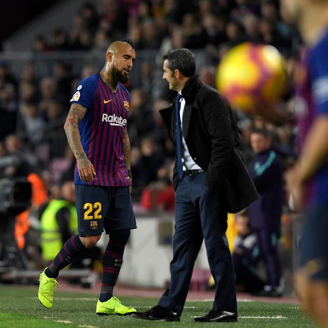 """Valverde: """"A Milano per vincere. Vidal? Vedremo a gennaio"""""""