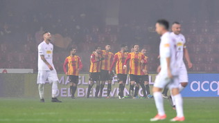 Il Benevento demolisce il Trapani e vola in classifica