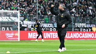 Il M'Gladbachstende il Bayern e sogna, manitadelDortmund