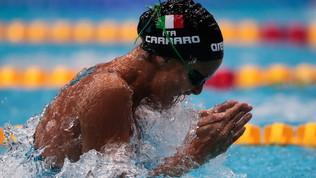 Nuoto, Europei vasca corta: medaglia d'argento per Federica Pellegrini nei 200 stile libero, Carraro trionfa davanti a Castiglioni nei 100 rana