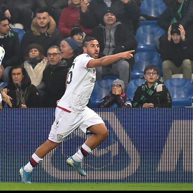 Ragatzu beffa il Sassuolo al 90': il Cagliari non muore mai