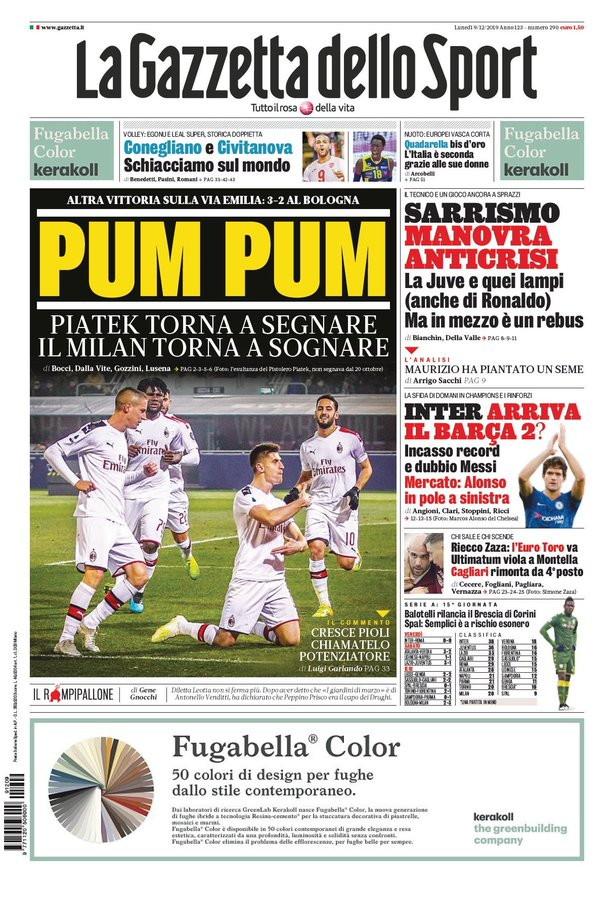 Lo sport sui giornali italiani ed esteri: sfoglia la nostra rassegna