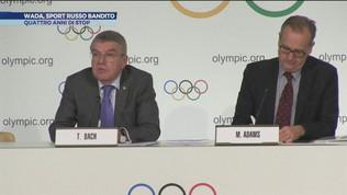 Wada, sport russo bandito per doping