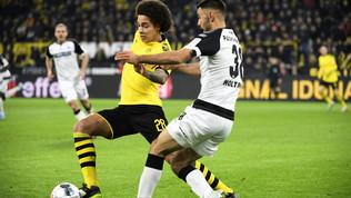 Dortmund: Witselsi rompe la faccia in casa, torna nel 2020