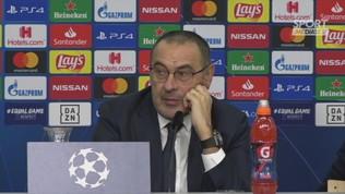 """Juventus,""""Sarri: """"Il tridente? Può essere"""""""