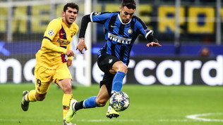 Champions League, Inter-Barcellona 1-2: le foto del match
