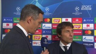 """Inter, Conte: """"Dispiaciuto per la squadra e i tifosi"""""""