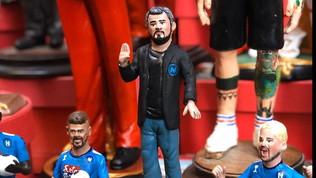 A Napoli spunta la statuetta di Gattuso