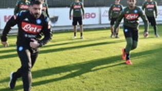Napoli: primo allenamento per Gattuso