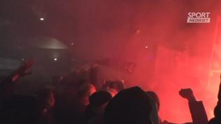 Atalanta, festa per l'impresa Champions League