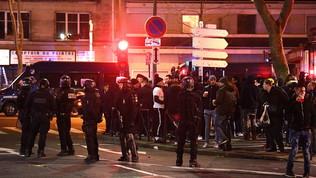 Tensione a Parigi, scontri prima di Psg-Galatasaray