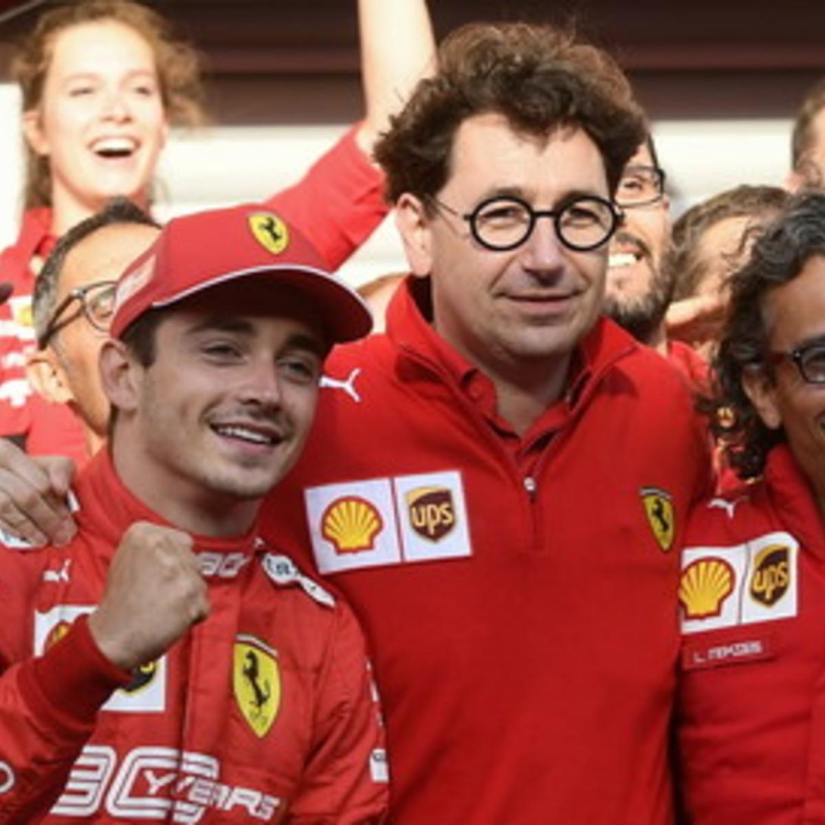 """Ferrari,Binotto: """"Per il 2020 una macchina vincente a Leclerc e Vettel"""""""