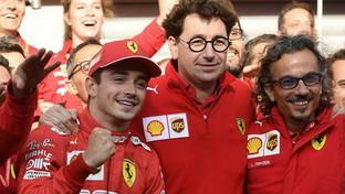 "Ferrari,Binottoa SportMediaset: ""Per il 2020 una macchina vincente a Leclerc e Vettel"""