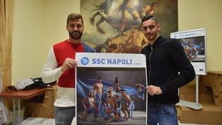 Napoli in posa per il calendario 2020