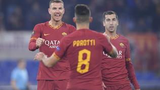 Europa League, Roma-Wolfsberg 2-2: le foto del match