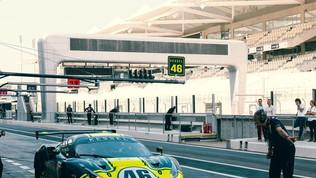 Rossi in pista per la 12 Ore del Golfo