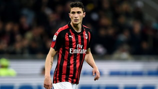 Milan, si rivede Caldara: col Sassuolo potrebbe giocare
