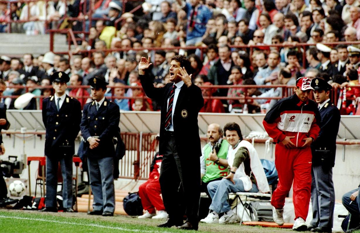 Fabio Capello (calciatore 1976-80, allenatore: 1991-1996 e 1997/98)