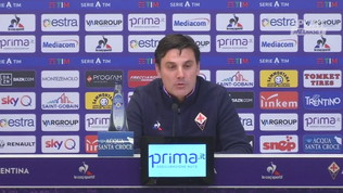 """Fiorentina, Montella: """"La squadra è unita, fiducia in Chiesa"""""""