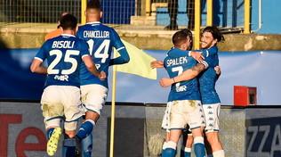 La cura Corini funziona, il Brescia travolge 3-0 il Lecce