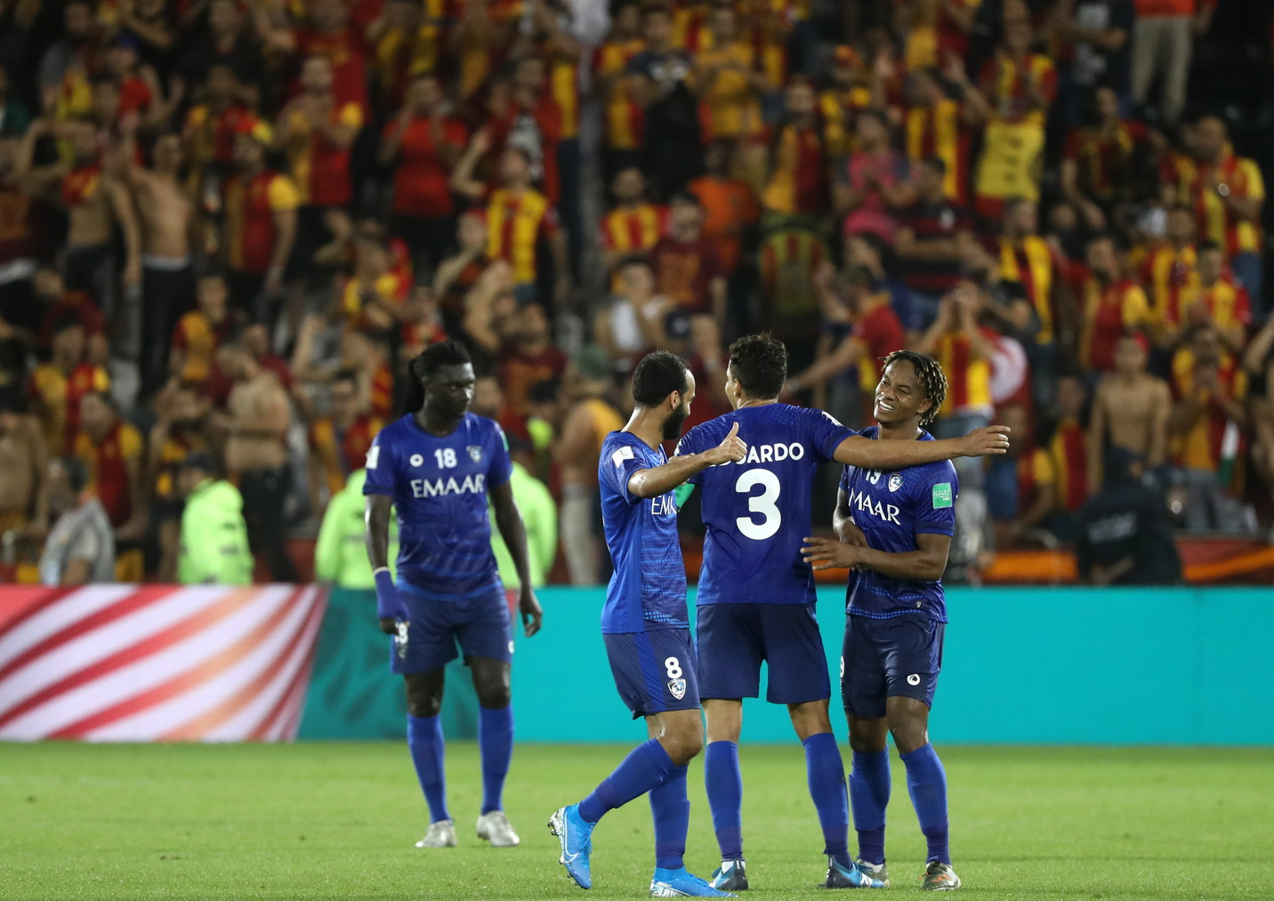 L'Al-Hilal batte per 1-0 l'Esperance Tunisi in un quarto di finale della Coppa del Mondo per Club estremamente combattuto in quel di Doha, gua...