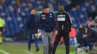 """Gattuso: """"Non è sfortuna, alla squadra manca equilibrio"""""""