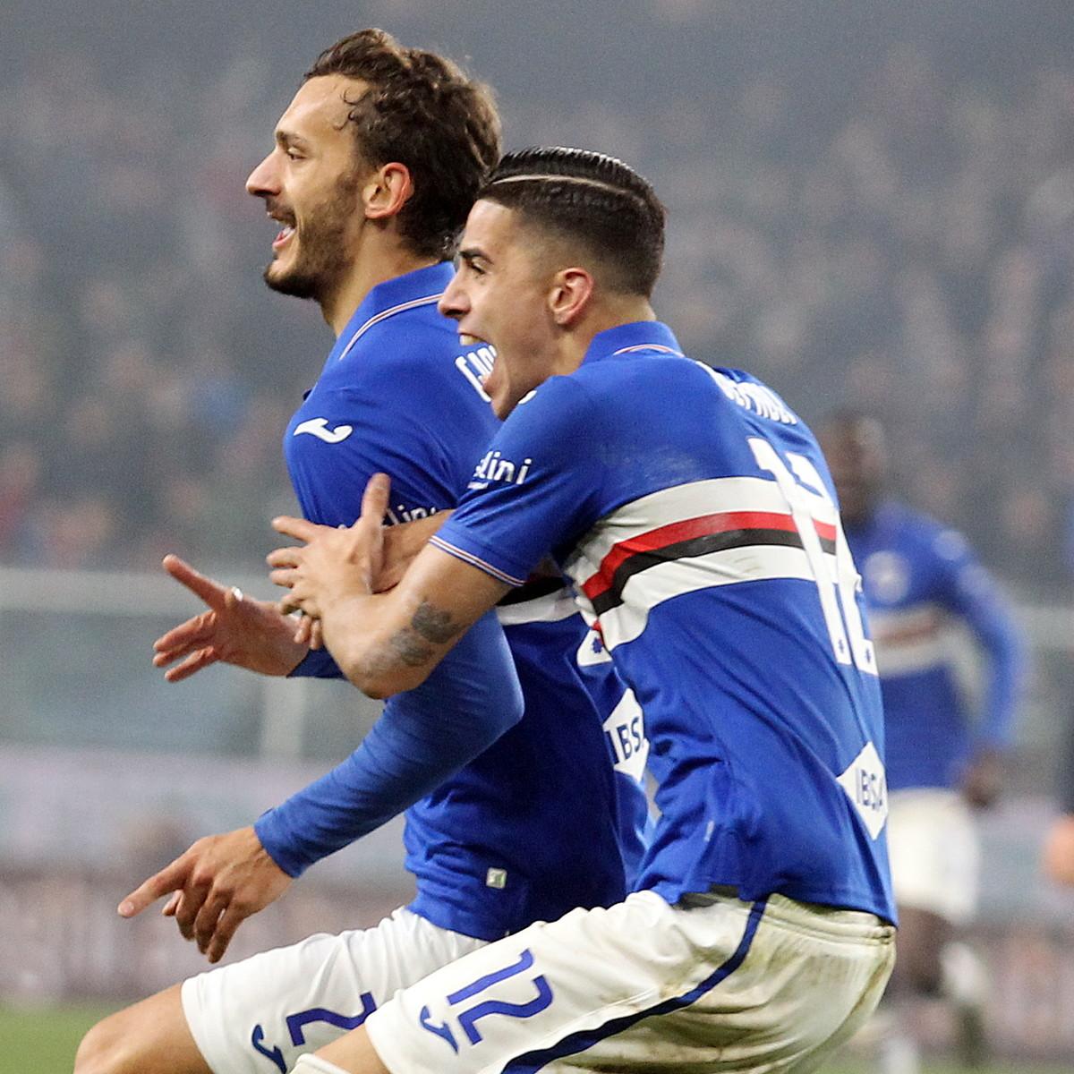 Serie A, Genoa-Sampdoria 0-1: Gabbiadini decide il derby nel finale